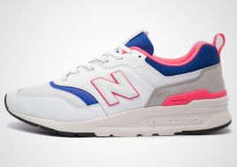 Pantofi sport New Balance CM997 90S STYLE OF LIFE PACK SUEDE/MESH