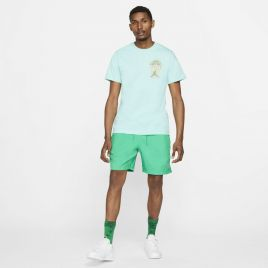 Sort Nike M J JUMPMAN POOLSIDE SHORT Male