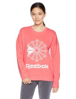 BLUZA REEBOK CL FT BIG STARCREST CREW FEMEI