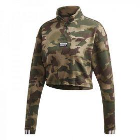 Bluza adidas HALF ZIP AOP