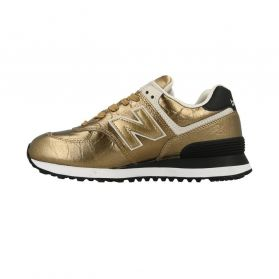 Pantofi sport New Balance WL574 METALLIC LEATHER